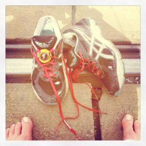 Neue Laufschuhe müssen her! Ich würd sagen die hab ich mir verdient! :)